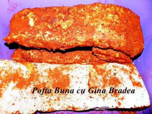 Pancetta, bacon de casa