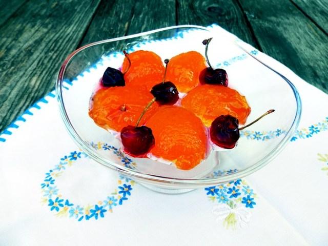 Cirese, caise, visine, fructe confiate