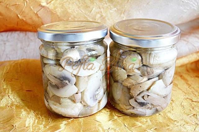 Ciuperci pentru iarna, in ulei sau saramura