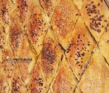 Placinta kobete, reteta turco-tatareasca dobrogeana