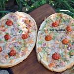 Pizza pe felii de paine, reteta simpla, ieftina si rapida