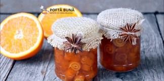 Dulceata de coji de portocale