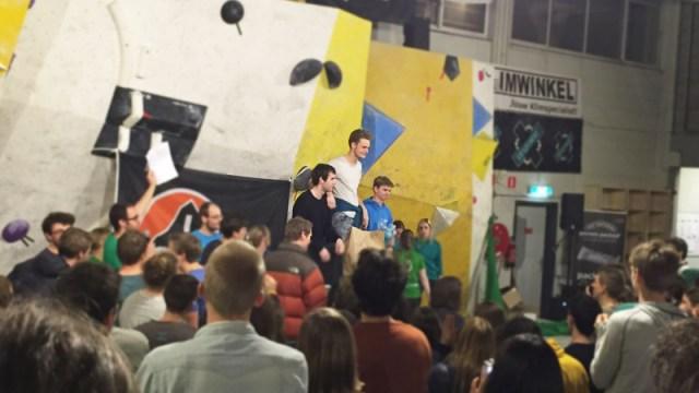 Top 3 winnaars herenklassement Lowe Alpine NSKB 2015
