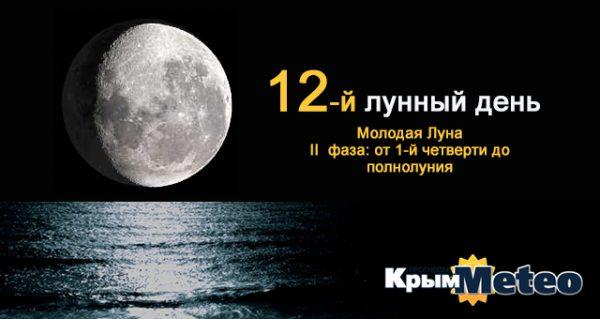 Сегодня - 12 лунные сутки. И воздастся вам по вере вашей...
