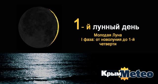 Сегодня — 1 лунные сутки. Поспешишь, Луну насмешишь