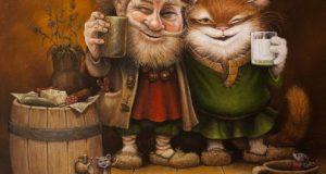 21 ноября – День Архангела Михаила. Угостите Домового пивком