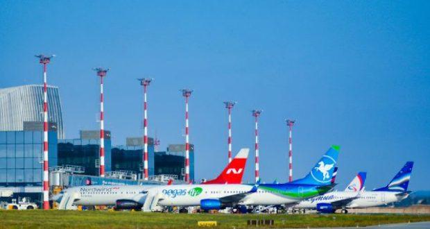 Пассажиропоток аэропорта «Симферополь» в мае вырос в разы