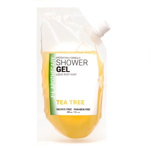 J+L Apothecary Shower Gel in Tea Tree