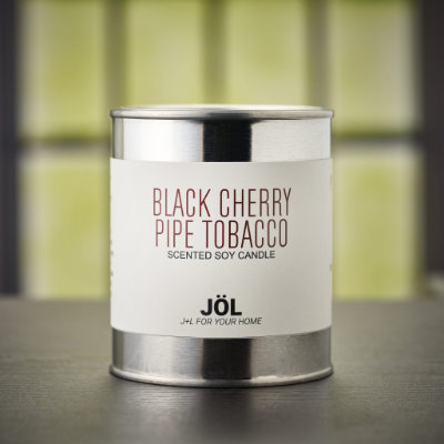 Black Cherry Pipe Tobacco Scented Candle - Autumn/Winter 2020