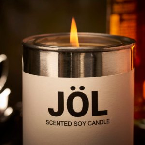 Paint Can Candle - logo version, unscented