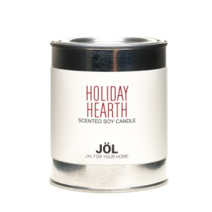 Holiday Hearth 1 Pint Paint Can Soy Wax Candle