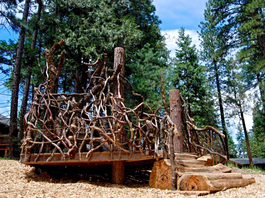 Evergreen Tree Fort