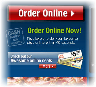 How easy is it to get your favourite pizza via a website?