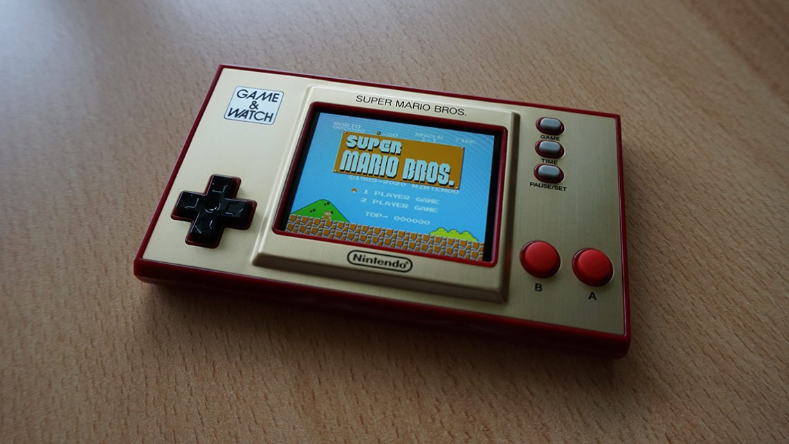 Game & Watch Super Mario Bros - gra