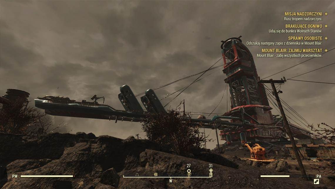 Fallout 76 - rozgrywka