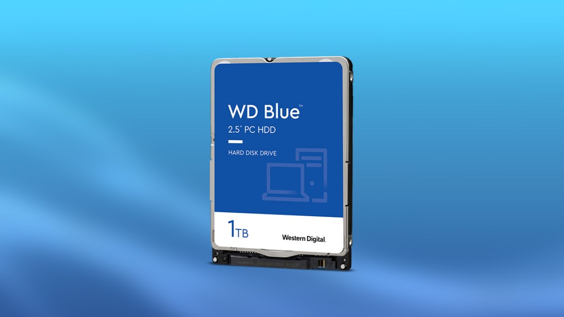 Jaki dysk do Playstation 3 - WD Blue