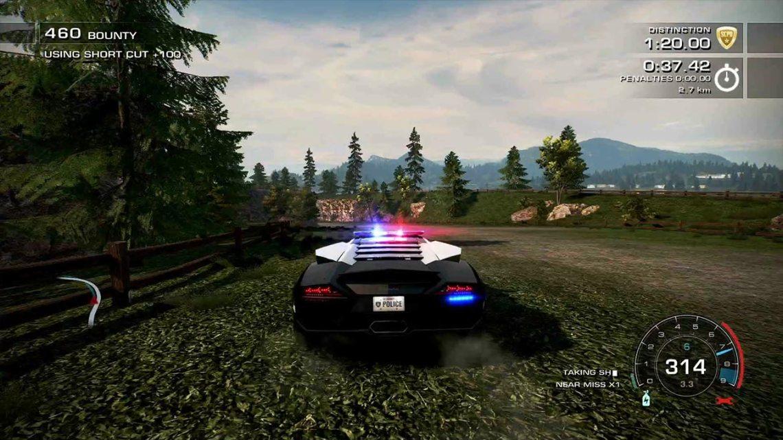 Hot Pursuit Remastered - policja