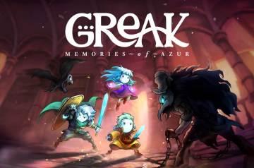 Greak Memories of Azur tytuł