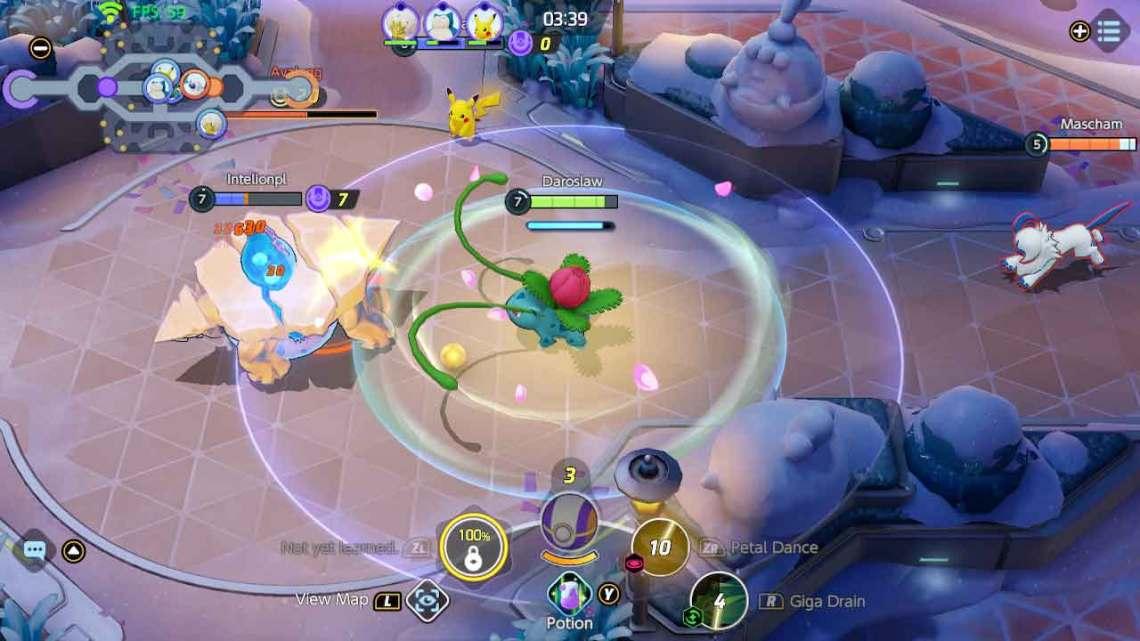 Pokemon Unite Ivysaur