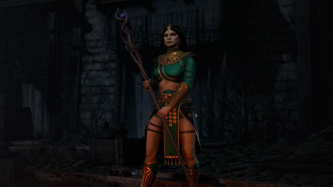 Diablo II: Resurrected Poradnik - Czarodziejka