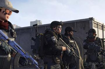 Gry Kooperacyjne - The Division 2