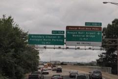 Crossing over into Virginia