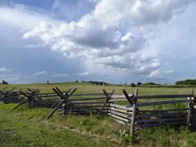 The field of battle