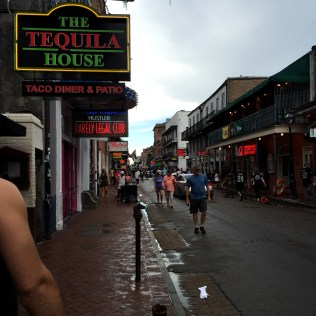 This is what Bourbon St is mostly like