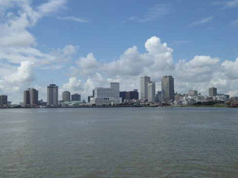The city of New Orleans