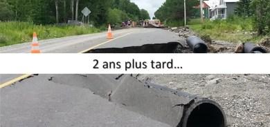 Victime d'inondations majeures il y a maintenant deux ans, la Ville de Pohénégamook rappelle le gouvernement du Québec à ses responsabilités