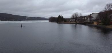 Niveau des eaux très élevé du lac Pohénégamook