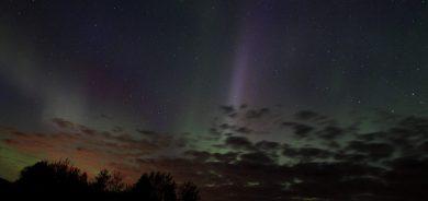 Spectacle haut en couleur dans le ciel de Pohénégamook