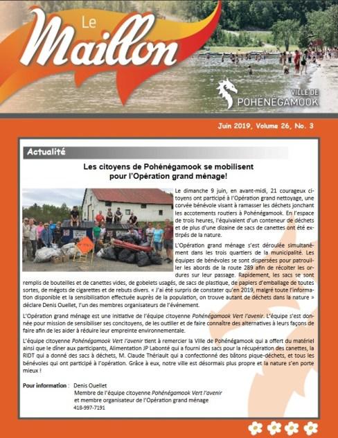Maillon juin 2019