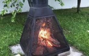 Les feux extérieurs dans des foyers munis de pare-étincelles sont désormais permis