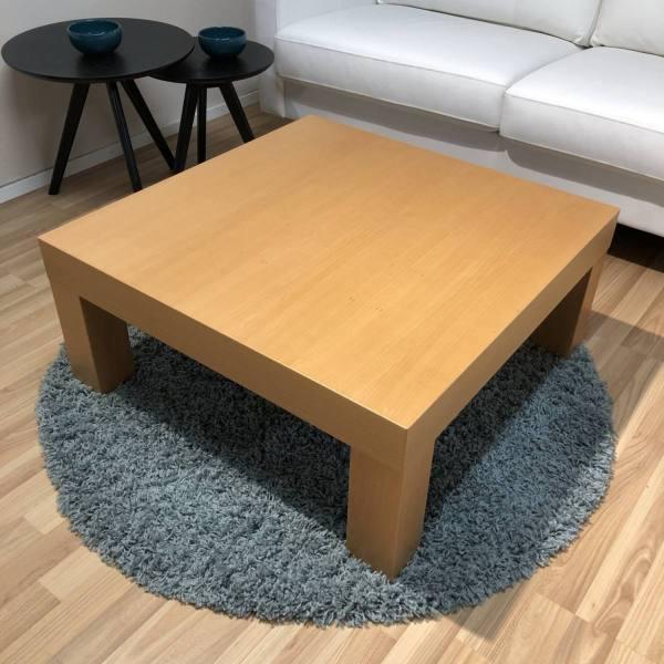 Zoom sohvapöytä 80x80 cm pyökki