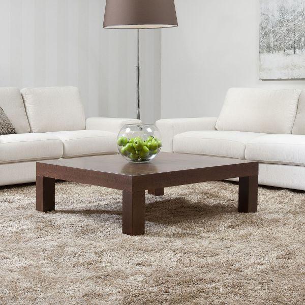 Zoom sohvapöytä 105x105 pähkinä