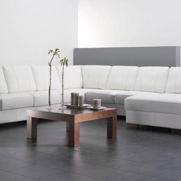 Zoom sohvapöytä 80x80 miljöökuva