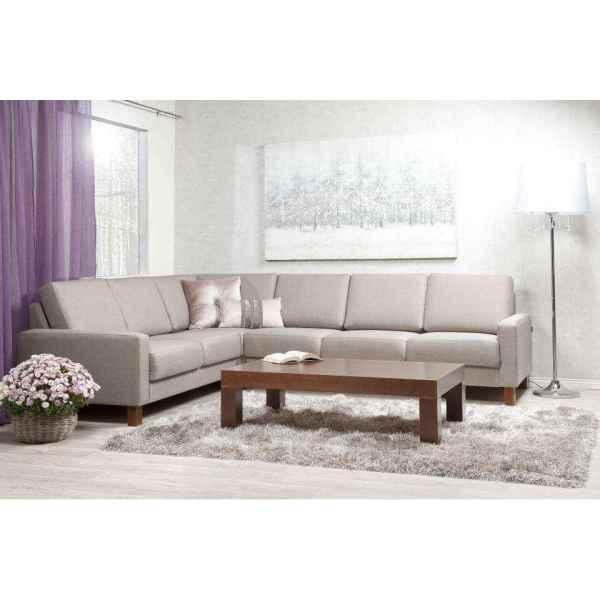 Moduli kulmasohva ja zoom sohvapöytä