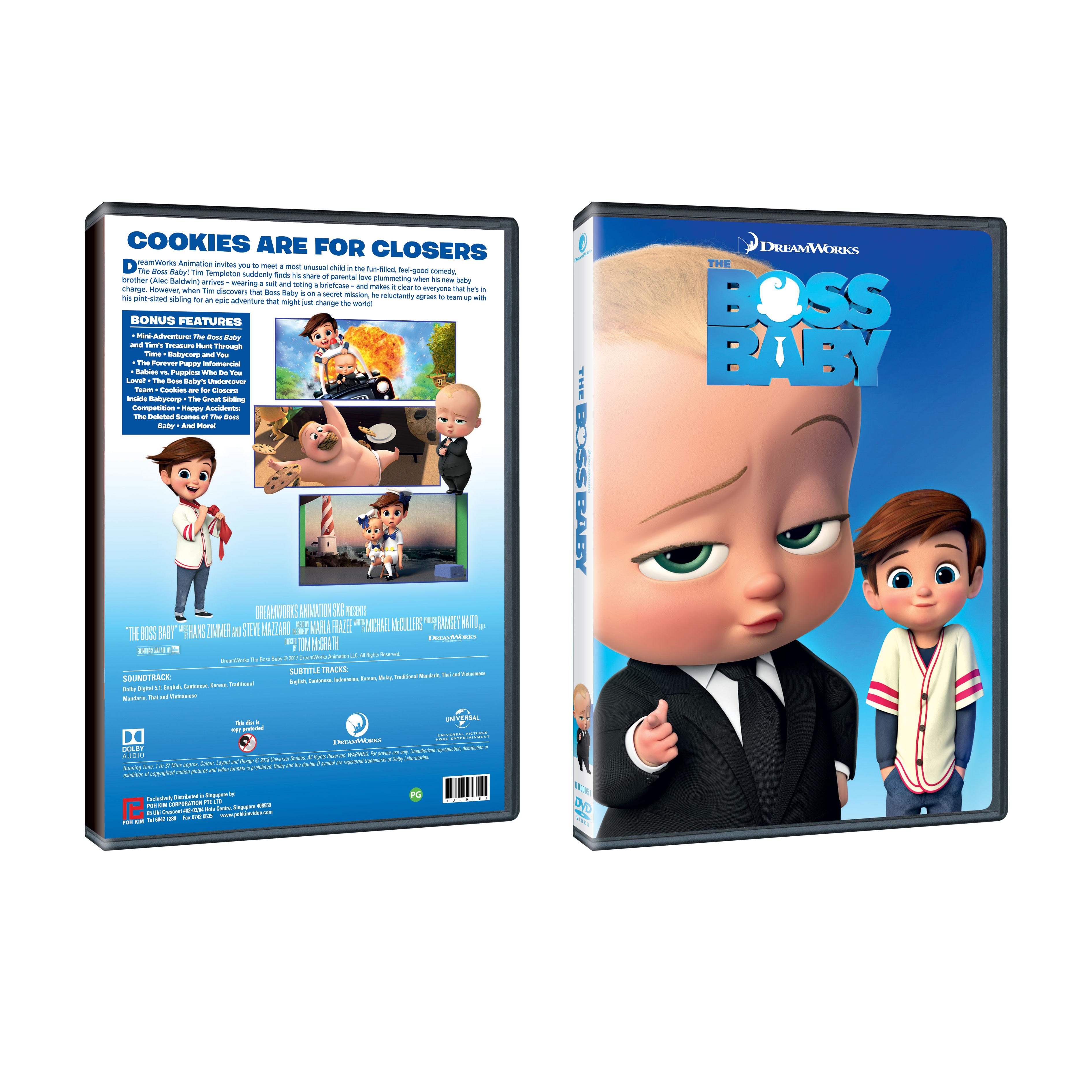 The Boss Baby Dvd Poh Kim Video