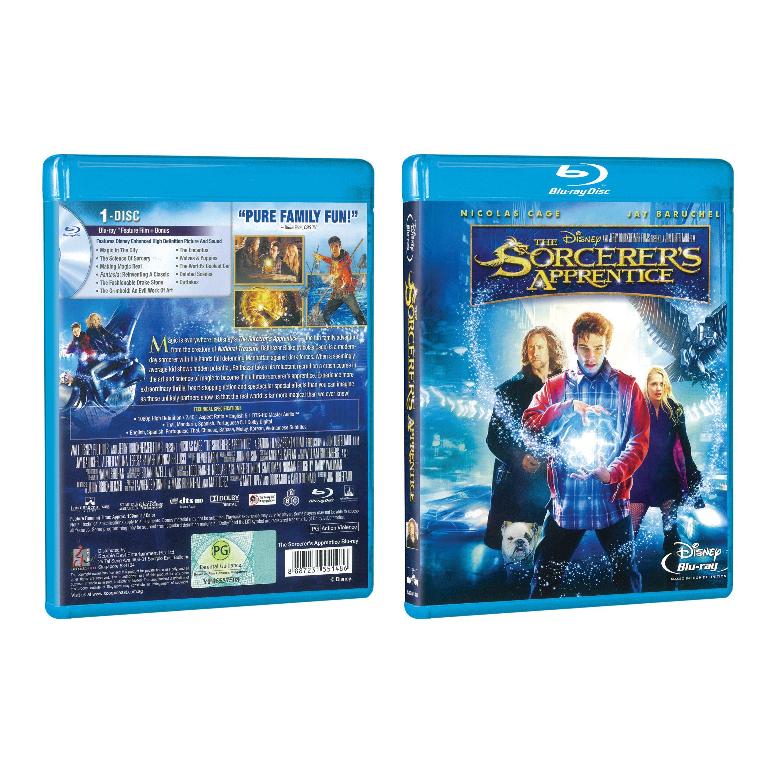 The Sorcerer S Apprentice 2010 Blu Ray Poh Kim Video