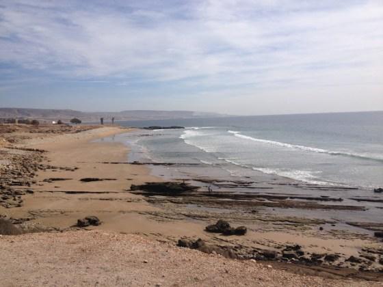 Surfové spoty na sever od Taghazoutu
