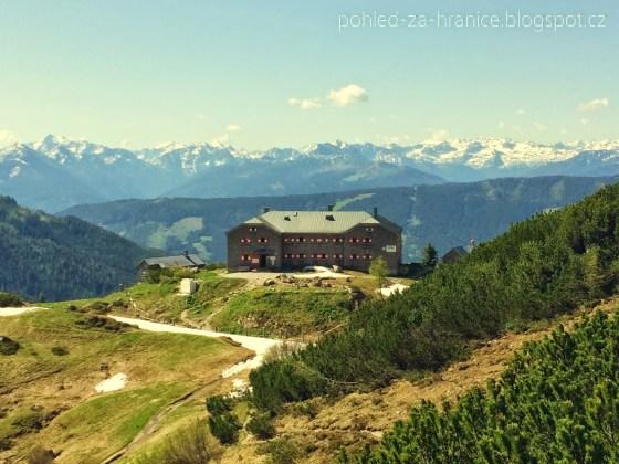Jak Manka strašila na Hofpürglhütte
