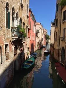 Benátky – příjezd