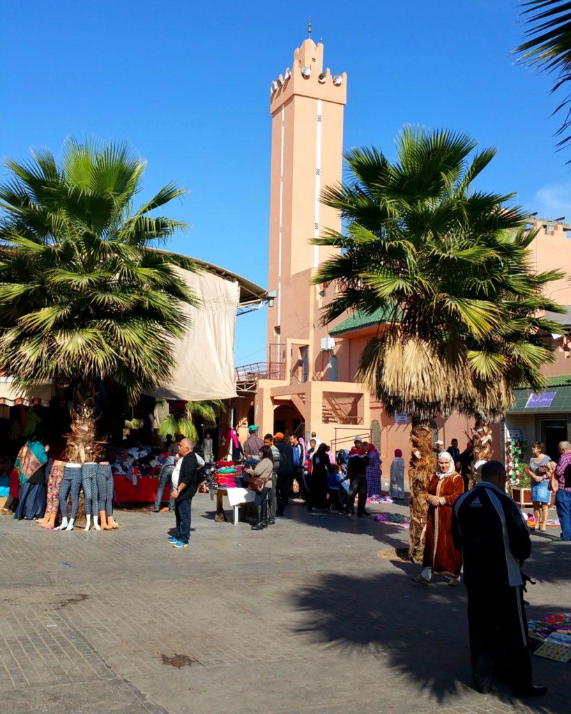 Souk El Had, Agadir, Maroko