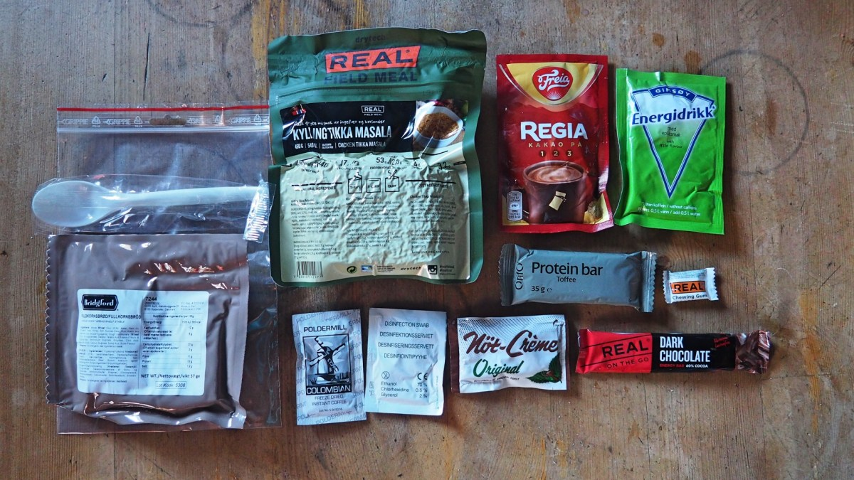 Test Arctic Field Ration
