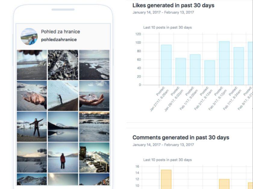 Aplikace pro plánování na Instagram
