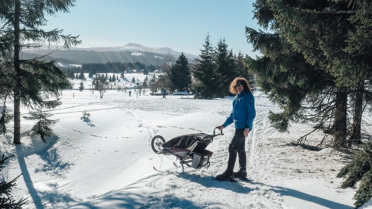 Zkušební cesta dodávkou s miminkem