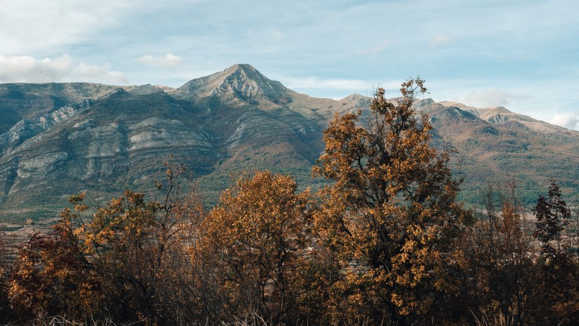 Hory na severu Řecka