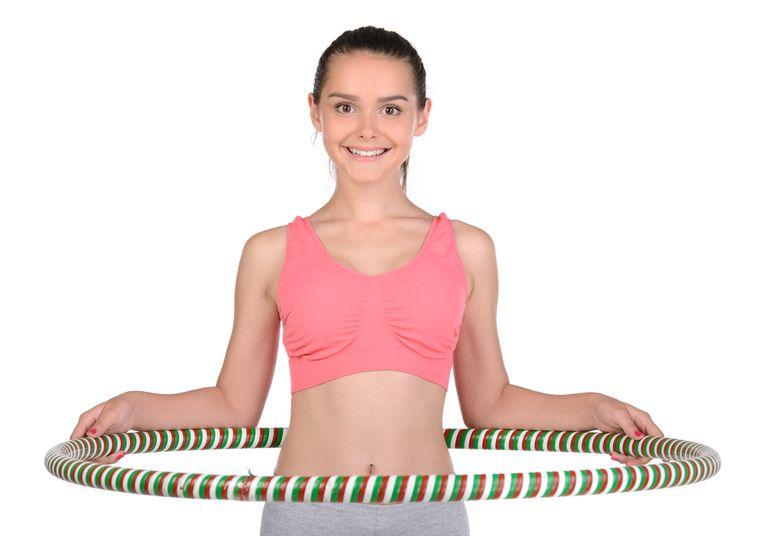 poate hula hoop să ajute la pierderea în greutate