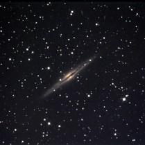 NGC891 Photo  Y.Tomiyama. 撮影地 糸島市 撮影日 2019.11.06